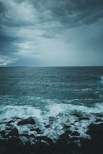 Dark Sea Ocean Waves Xx