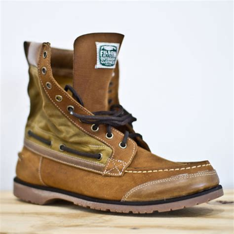 Boat Shoes In The Fall by Sebago X Filson Fall Winter 2011 Boots The Simple