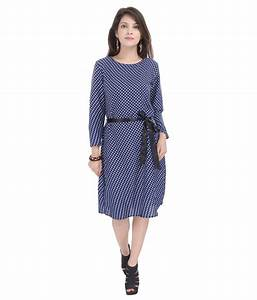 Goodwill Blue Polyester Dresses - Buy Goodwill Blue ...