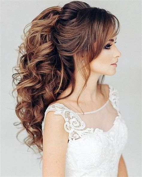 25 stylish wedding hairstyles 2018 for girls country
