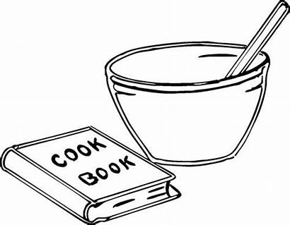 Bowl Clipart Mixing Spoon Cooking Cook Clip
