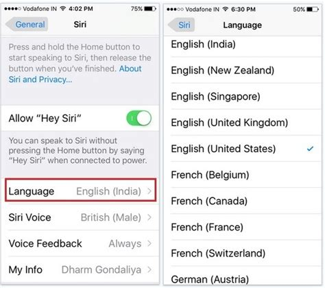 how to change the language on iphone how to change siri language on iphone ios 11 ios 10