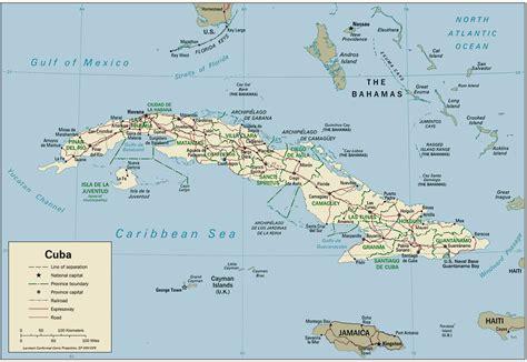 Carte Du Monde Cuba by Cuba Cuba
