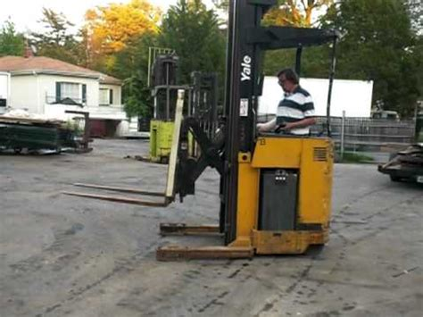 yale lift truck nr electric forklift  sale  ebay