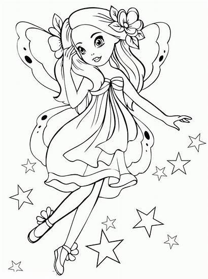 Coloring Printable Fairy Ausmalbilder Colorear Malvorlagen Disney