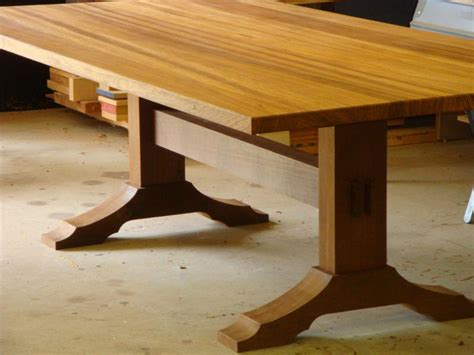Building A Trestle Dining Table