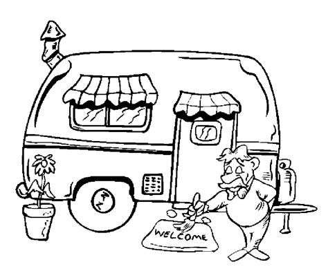 camping coloring pages  preschoolers coloring home