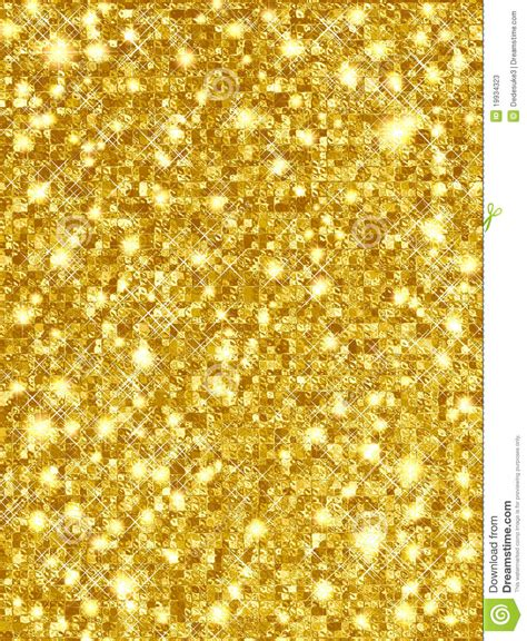 sparkling gold stock  image