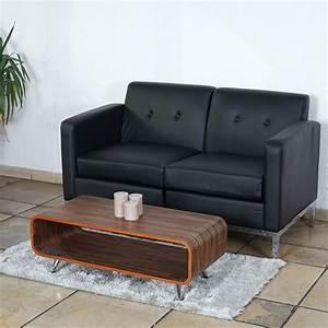 Kunstleder Couch Schwarz : 2er sofa mcw c19 modular sofa couch mit armlehnen erweiterbar kunstleder schwarz ~ Watch28wear.com Haus und Dekorationen