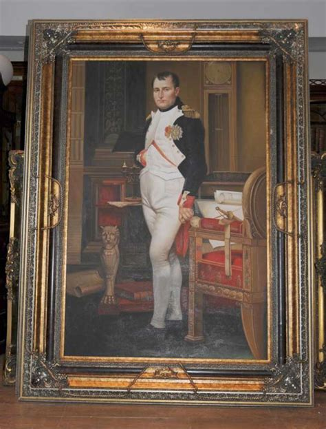 xl oil painting napoleon bonaparte french emperor military leader