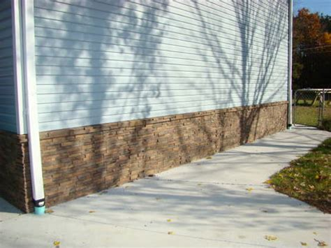 Exterior Design With Wainscoting  Creative Faux Panels