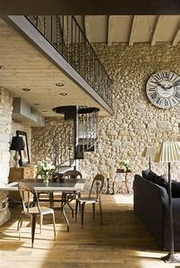 Mur Pierre Apparente : formidable mur en pierre apparente interieur 6 pierre ~ Premium-room.com Idées de Décoration