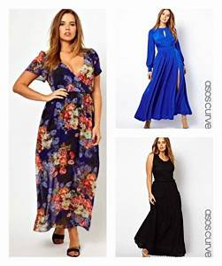 Robe maxi dress asos curve robe longue grande taille ete for Maxi robe grande taille