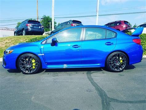 Rally Blue Wrx by 2018 Subaru Sti World Rally Blue Gotta A Whip