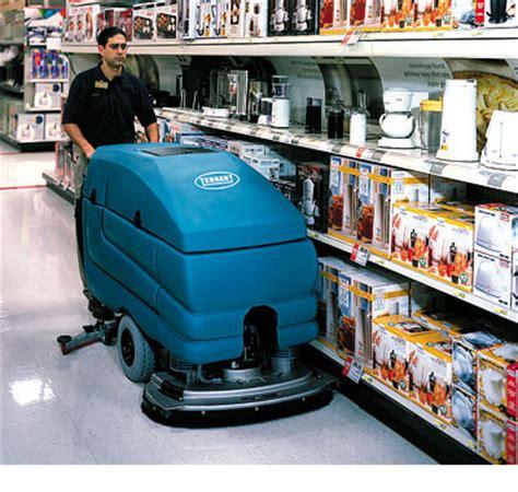 Tennant Floor Scrubber 5680 by Tennant 5680 Walk Scrubber 3