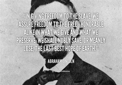 President Lincoln Quotes On Slavery. Quotesgram