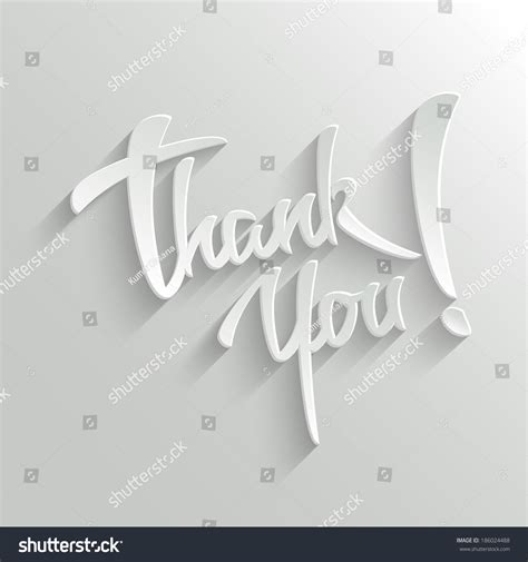 hand lettering greeting card stock vector