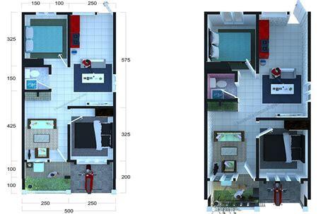 gambar rumah sederhana ukuran   gambar contoh denah