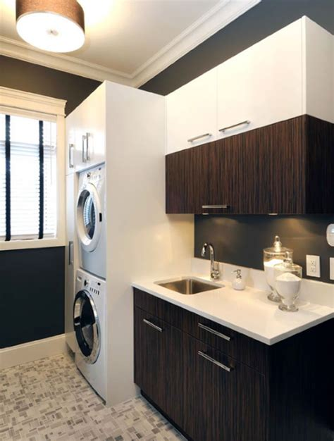 laundry room cabinets  small space ideas