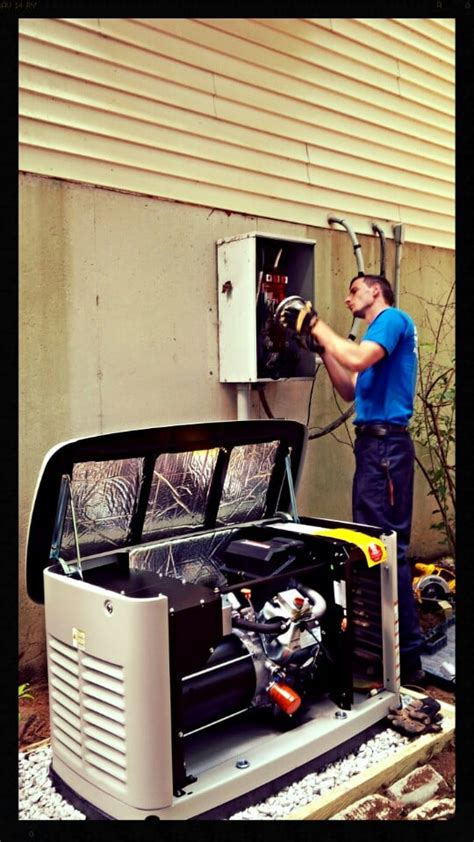 house generator install  automatic transfer