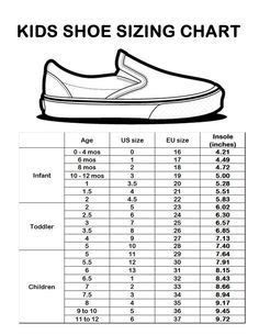 standard dimension for kids shoes - Google Search | bobhzy