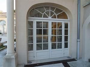 grande porte fenetre bois a chateau gombert menuiserie With grande porte fenetre