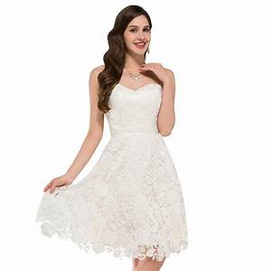 ivory vintage lace short wedding dress beach style With site de robe de mariée