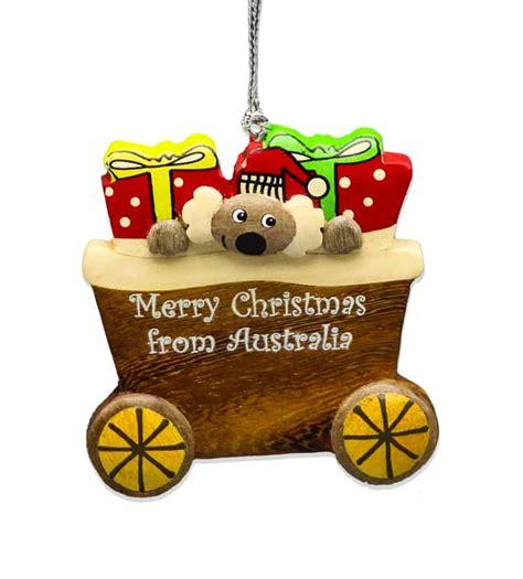 koala wagon christmas decoration australia  gift