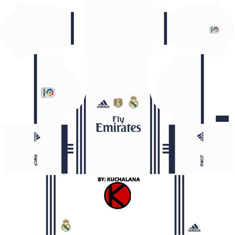 7087c70a8 Collection of Real Madrid Kit Dream League Soccer Portero Real ...