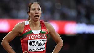 Athletics - Former 800m World Champion Arzamasova Gets Provisional Ban For Doping