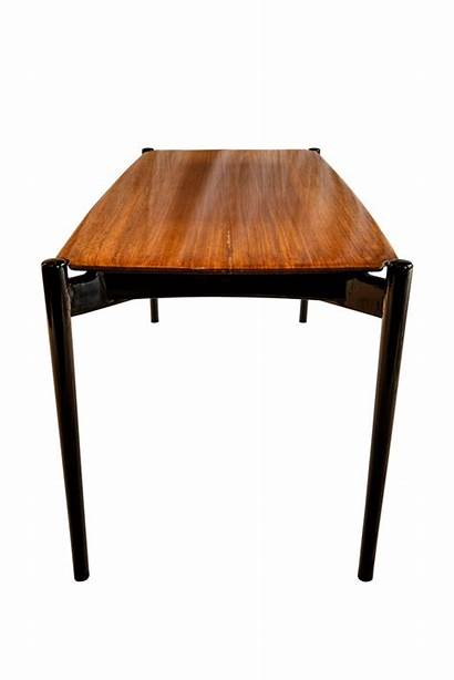 Coffee Parisi Ico Attributed Rosewood Architect 1950