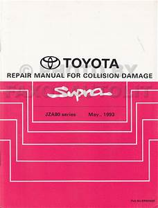 1996 Toyota Supra Turbo Repair Shop Manual Supplement Original