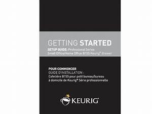 Keurig Manual B155 Quick Start Guide