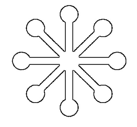 small snowflake template free printable snowflake templates large small stencil patterns what does