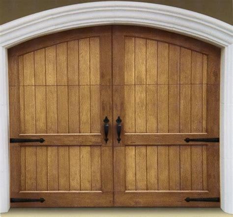 Decorative Garage Door Hardware Uses