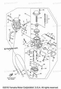 Yamaha Atv 2001 Oem Parts Diagram For Carburetor Rnc
