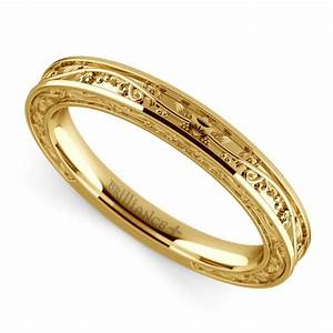antique wedding ring in yellow gold With yellow gold wedding rings