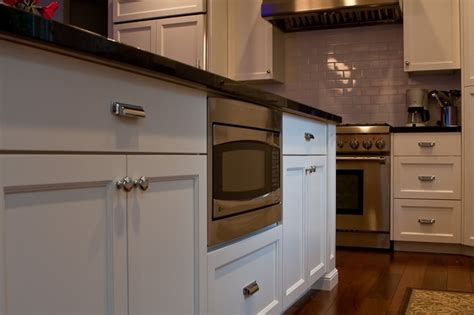 microwave in kitchen island microwave in island yay or nay chambers kitchen ideas