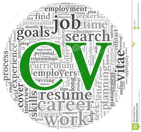 Talent based resume