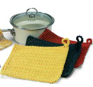 Easy Pot Holder Knitting Pattern