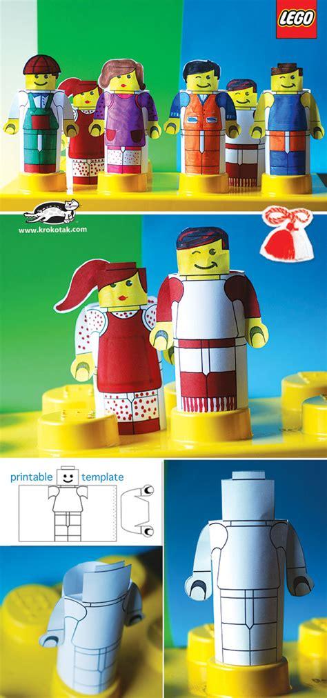 krokotak create lego people