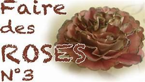 Comment Faire Des Roses En Papier : comment faire des roses en papier n 3 youtube ~ Melissatoandfro.com Idées de Décoration