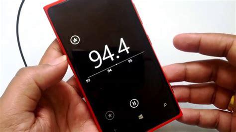 fm radio on windows phone 8