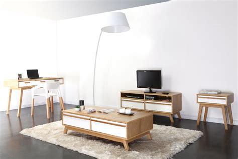 bon canapé convertible bureau design scandinave helia dans un intérieur contemporain