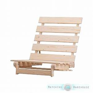 Wooden futon base frame 1 seater single and 2 3 str for Wood futon frame ikea