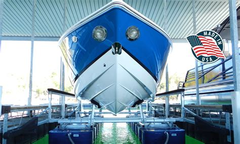 In Water Boat Lift by Boat Lifts