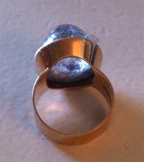 MIXED PICKLES: 14K Kaunis Koru 1969 Modernist RING