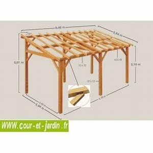 Abris De Terrasse En Kit : auvent de terrasse bois abri terrasse auvent bois ~ Dailycaller-alerts.com Idées de Décoration