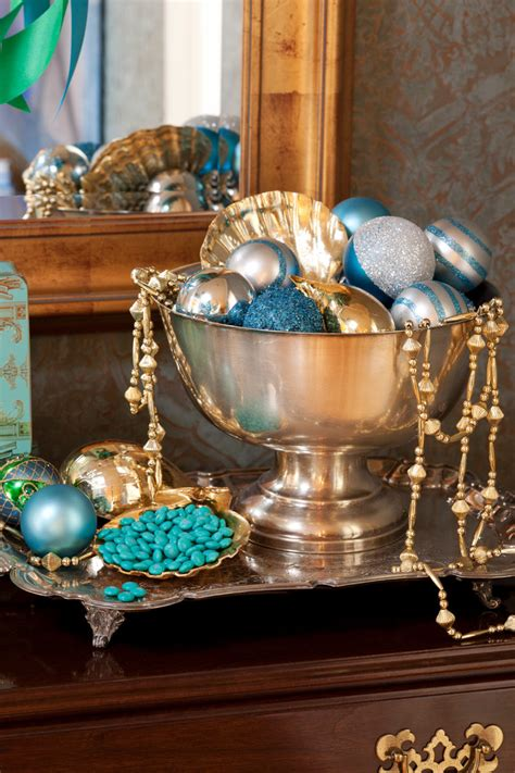 awesome blue christmas decorations ideas interior vogue