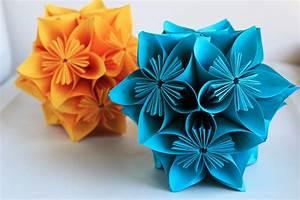 How to Make Beautiful Origami Kusudama Flowers